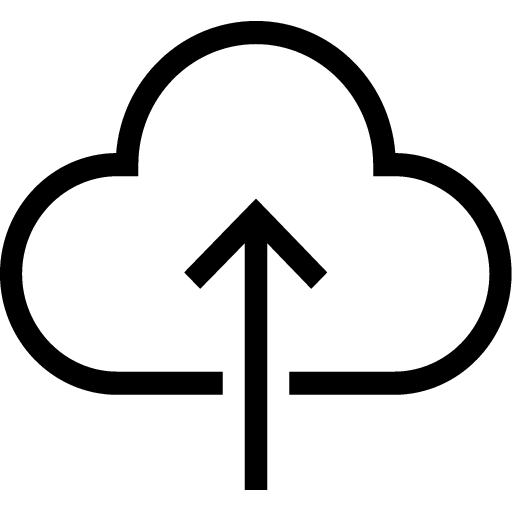SE1ECTMEDIA - Services - Marketing Automation - Icon - Email Marketing Automation - Icon of Cloud with Arrow Pointing Up